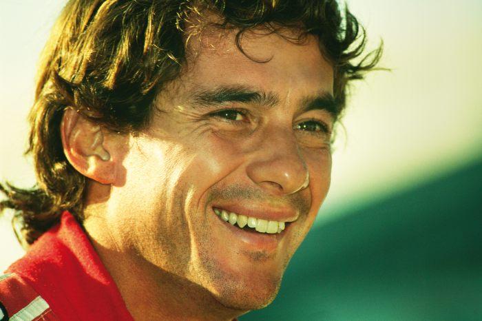 Smiling Ayrton