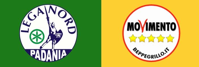 Lega Nord Movimento 5 Stelle