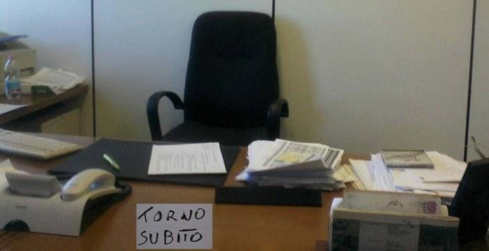 Ufficio deserto