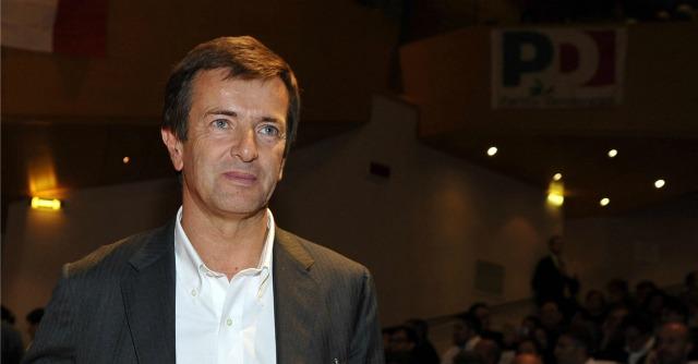 Gian Mattia D'Alberto/LaPresse 29-10-2012 Matteo Renzi a Milano, nella foto: Giorgio Gori.