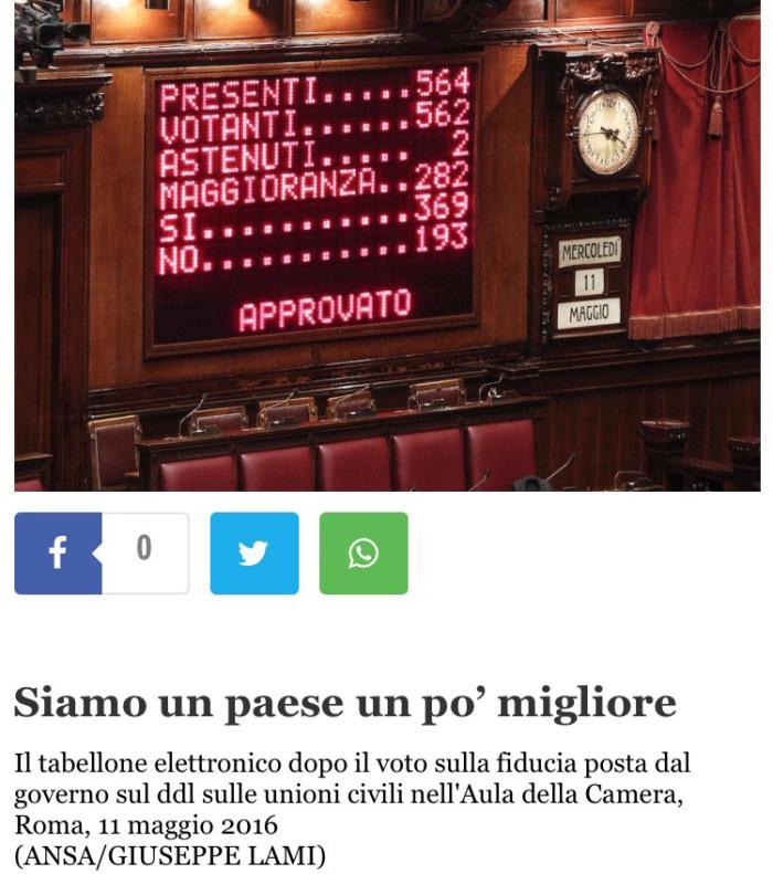 Screenshot dall'articolo de Il Post