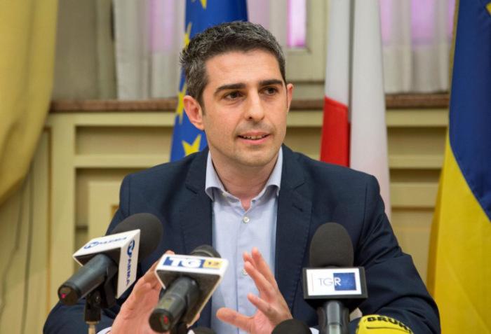 Il sindaco di Parma, Federico Pizzarotti